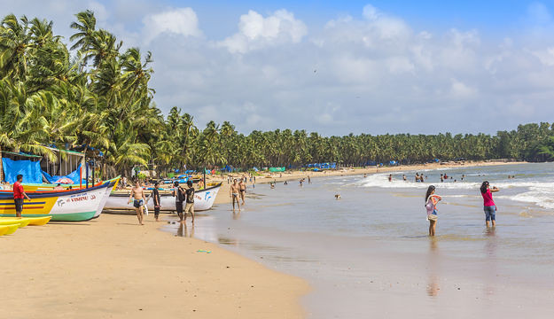 names of beaches in india
