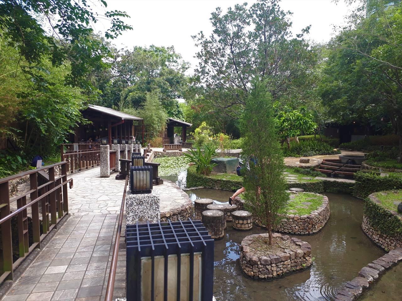 台湾・礁渓温泉公園