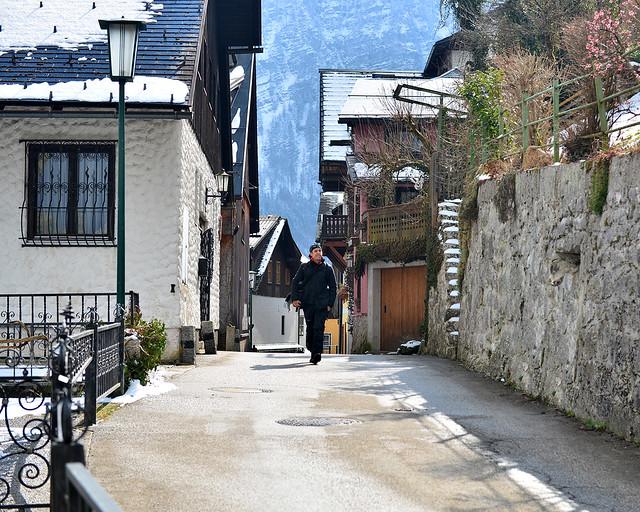 Caminando por Hallstatt, uno de los pueblos más hermosos del mundo