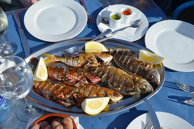 Fish platter, Tenerife