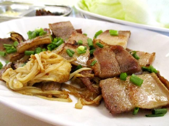 Grilled pork belly 2