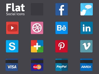 The 25 Best Free Beautiful Social Media Icon Packs for 2020 8