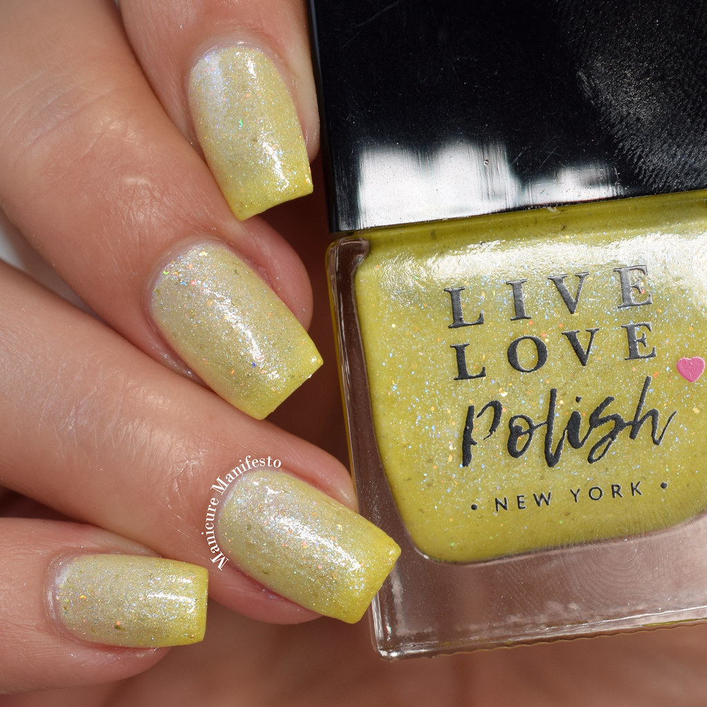 Live Love Polish Lemon Shark swatch