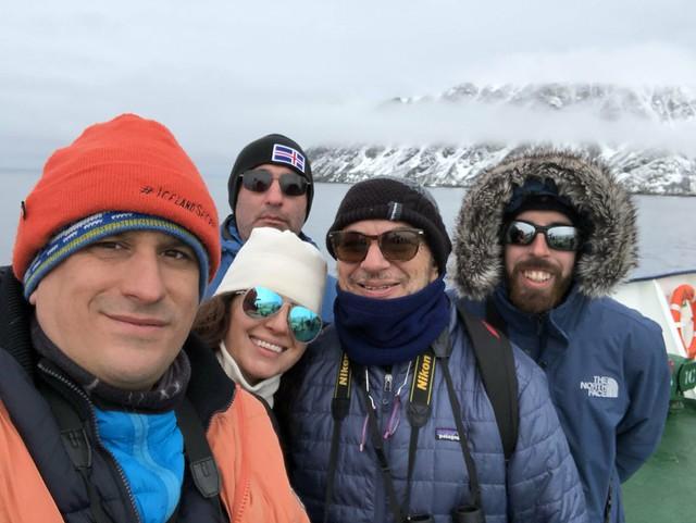 El equipo hispano del MS/Ortelius (Viaje a Svalbard en barco)