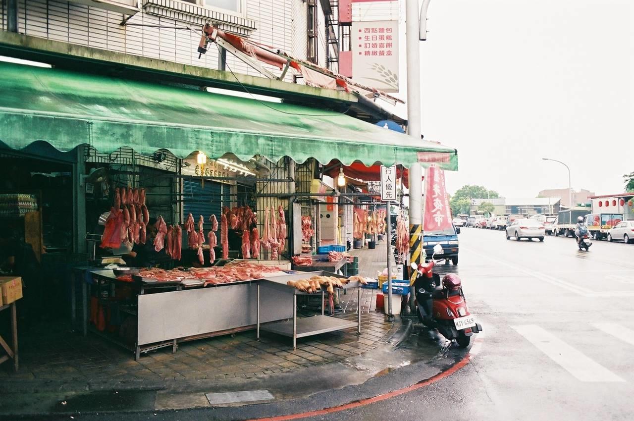 宜蘭の肉屋