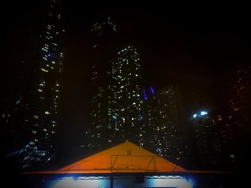 Queen Victoria Market at night