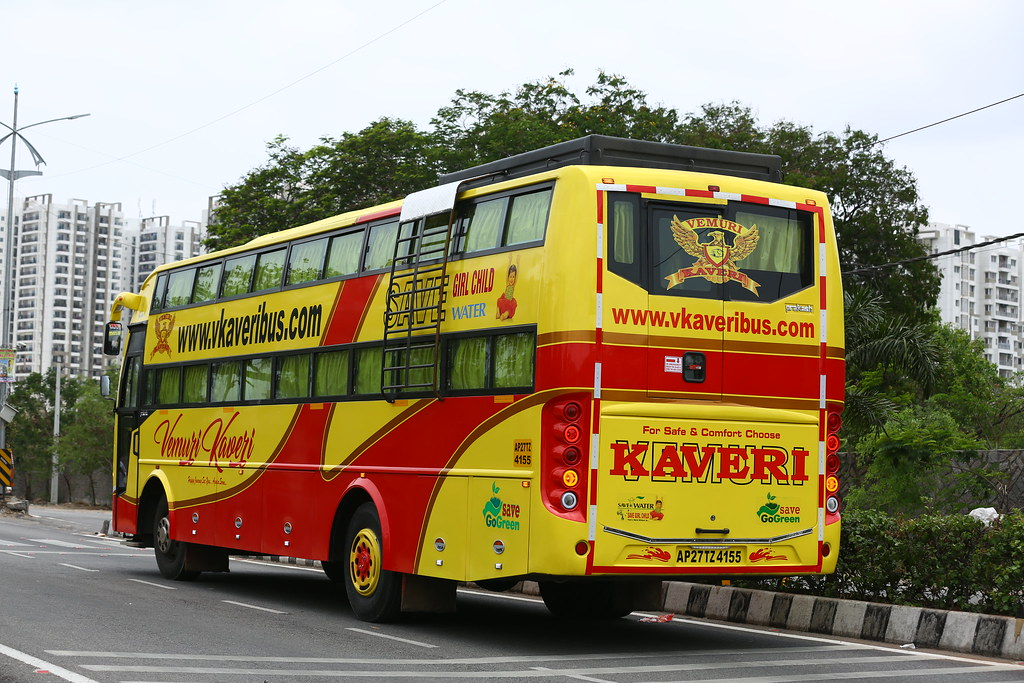 VKaveri Travels - bus