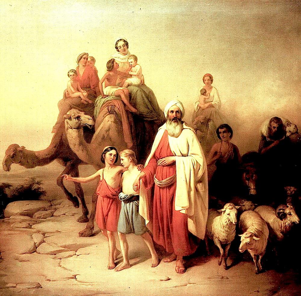 Иаков переселяется в Египет.