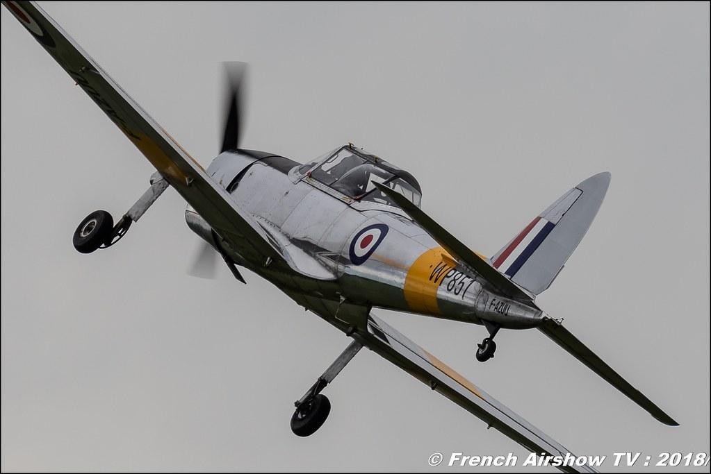 De Havilland DHC-1 Chipmunk 22 - F-AZUU , Wp851 , 32e édition d'Airexpo Muret-Lherm , Airexpo Muret 2018 , Canon EOS , Sigma France , contemporary lens , Meeting Aerien 2018