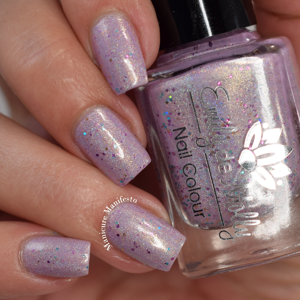 Emily De Molly Dappled Lilac swatch