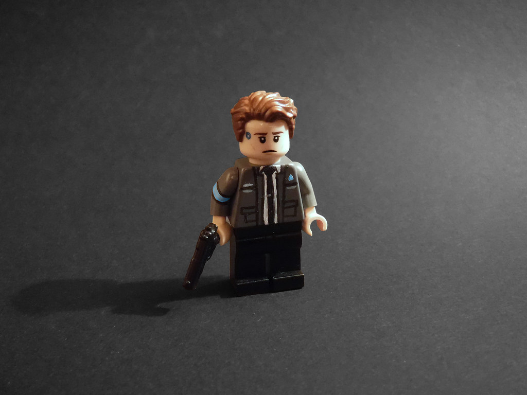 Human Rights >> Lego Connor (Detroit: Become Human) | POTENTIAL SPOILERS FOR… | Flickr