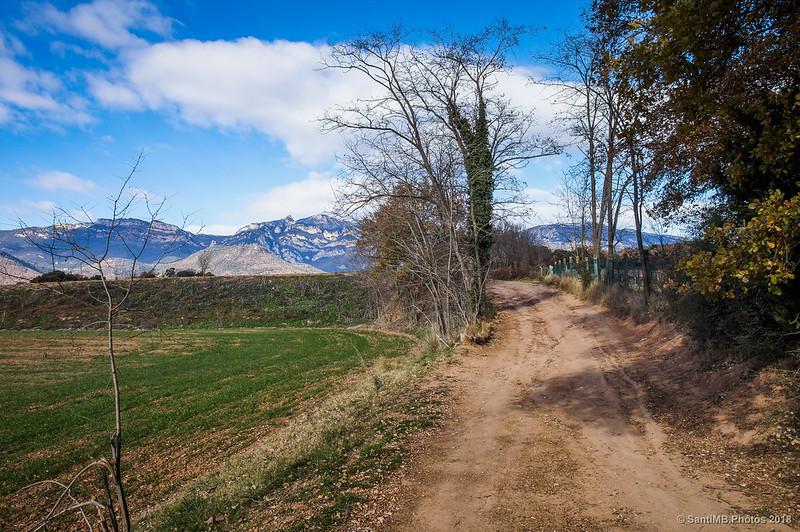Regresando a Avià desde el lago de Graugés