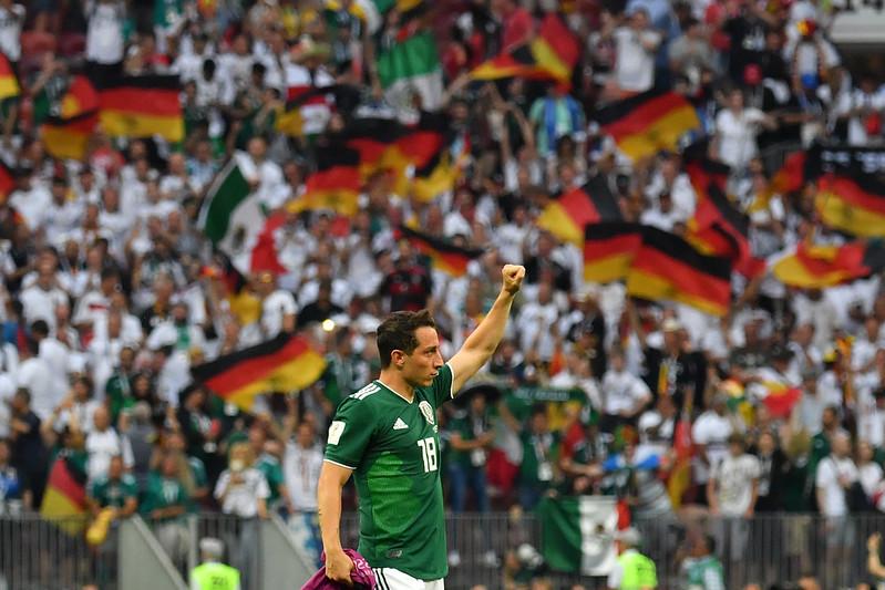 墨西哥的勝利讓全國歡喜若狂。(AFP授權)