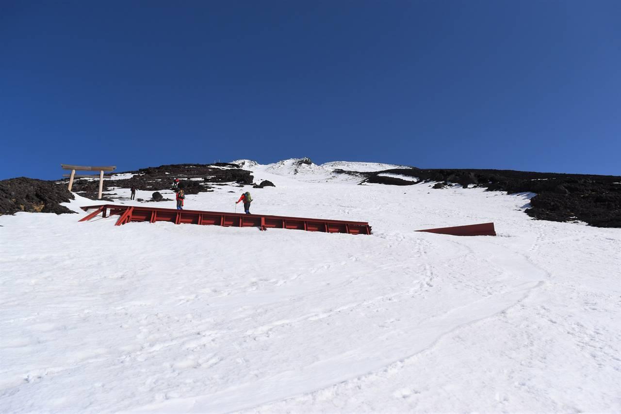 富士山 残雪日帰り登山