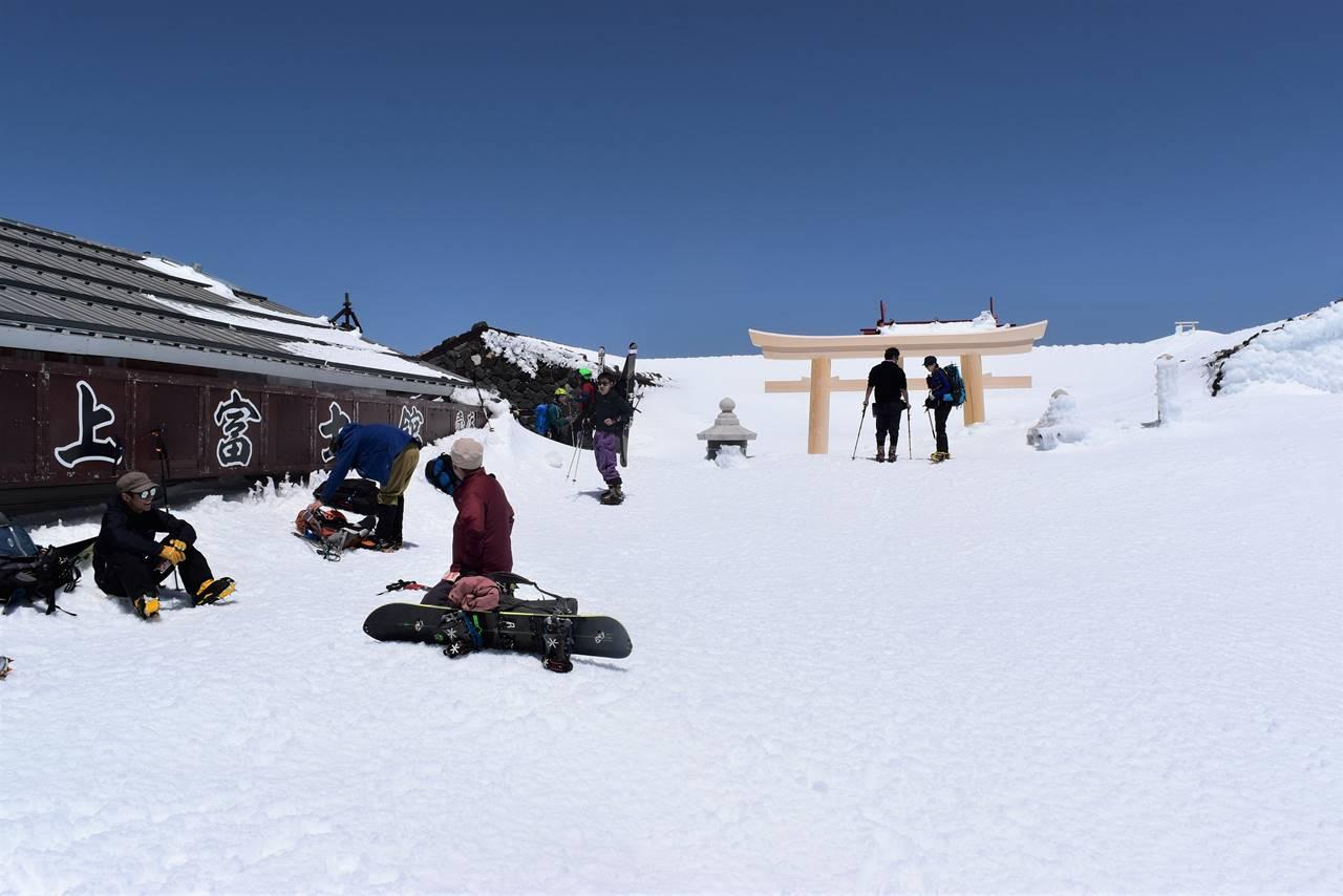 富士山・富士宮コース山頂
