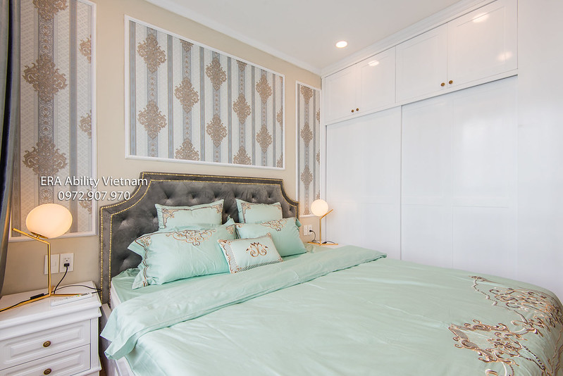 Master bedroom apartment district 4 Saigon for rent