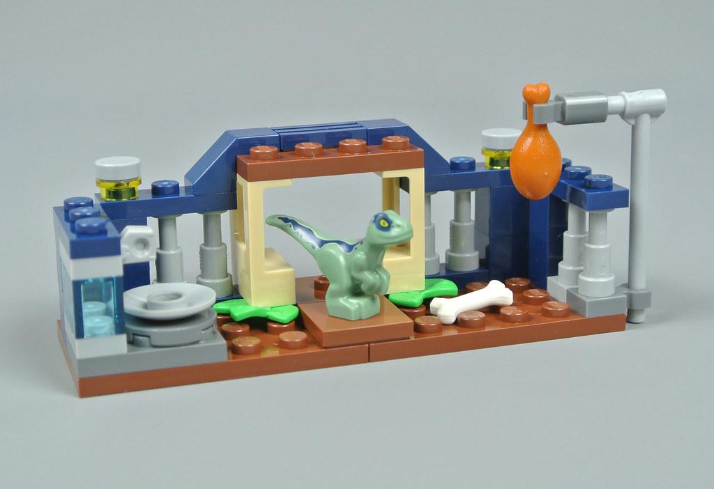 Park 30382 BABY VELOCIRAPTOR Raptor PLAYPEN Polybag NEW LEGO Jurassic World