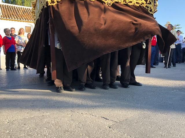 AionSur 41892605805_af94f5de0d_z_d San Antonio sale arropado por su pueblo que lo siente como patrón Arahal Semana Santa