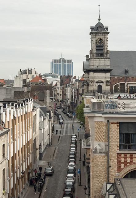 Bruksela, wieżyczka z zegarem