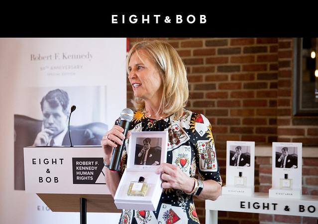 Kerry Kennedy presenta el nuevo perfume de Eight & Bob