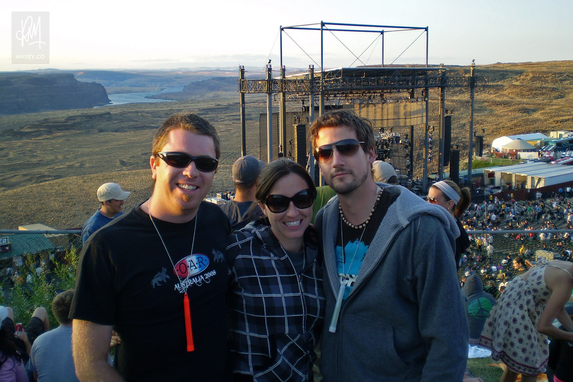 OAR and DMB play The Gorge!