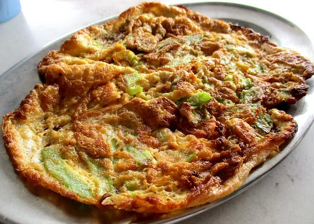 SYARIKAT KIONG CHUONG CAFE bitter gourd omelette