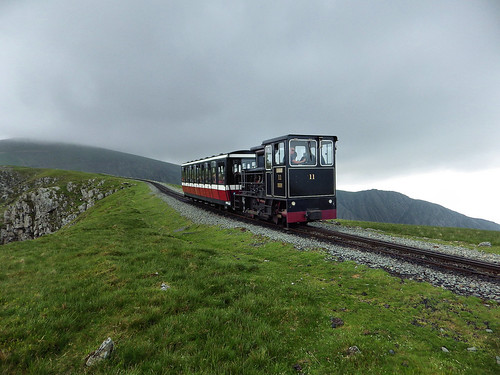 A train from Snowdon