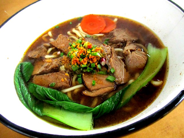 Beef noodles, Taiwanese style