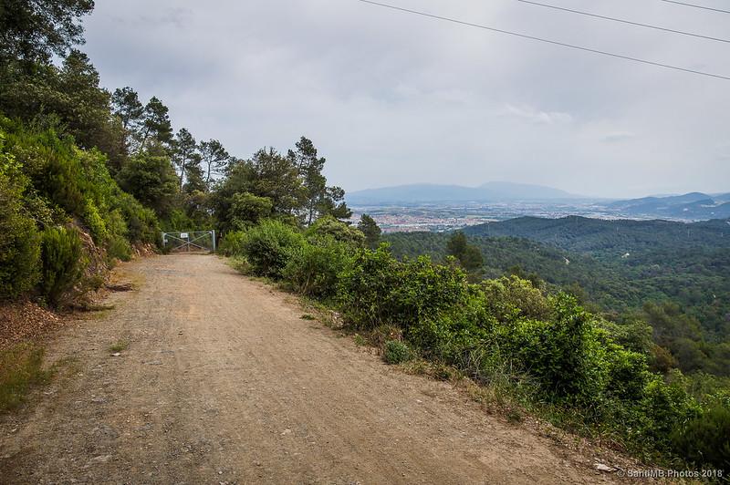 El Montseny desde la Serra d'en Fotjà