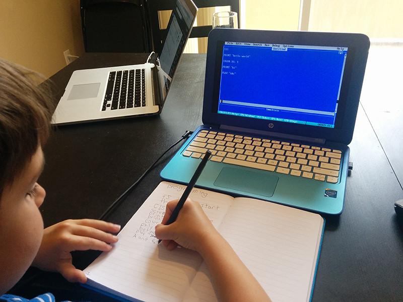QBasic для обучения детей программированию, как запустить в Linux