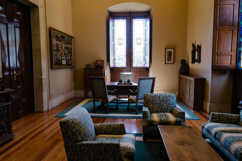 バスク議事堂の部屋