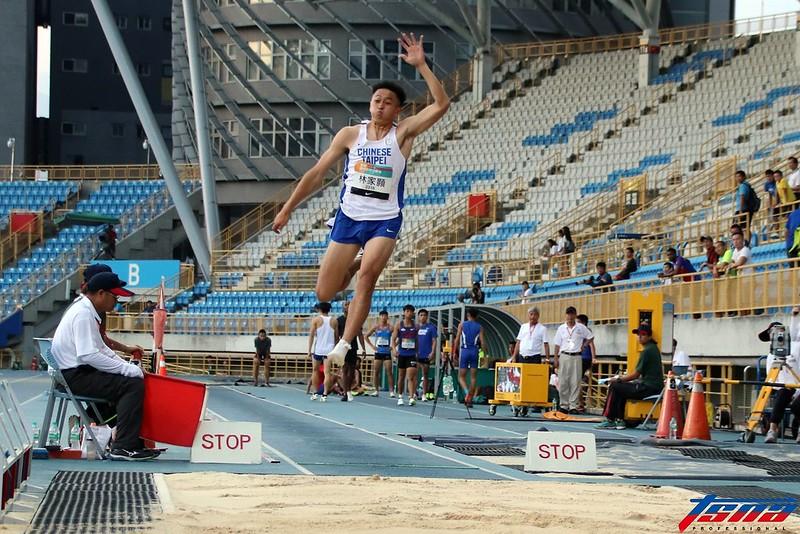 雖然林家顥在台灣田徑公開賽表現不佳,但仍想在日本大學生田徑公開賽一拚亞運資格。(林志儒/攝)