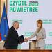 """Podpisanie porozumienia w sprawie realizacji programu priorytetowego """"Czyste Powietrze"""""""