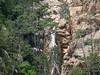 La cascade de Funtane Rosse depuis Posta di A Strada