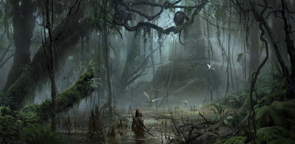 Shadow Of The Tomb Raider Concept Art: All Games Delta