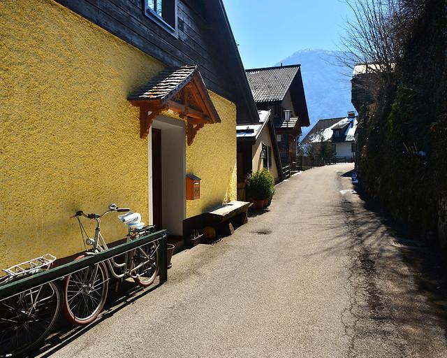 Una de las casas más bonitas de la calle Gosaumühl en Hallstatt