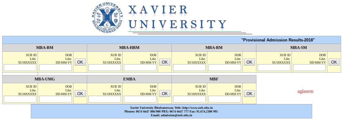 XGMT 2019 Final Result