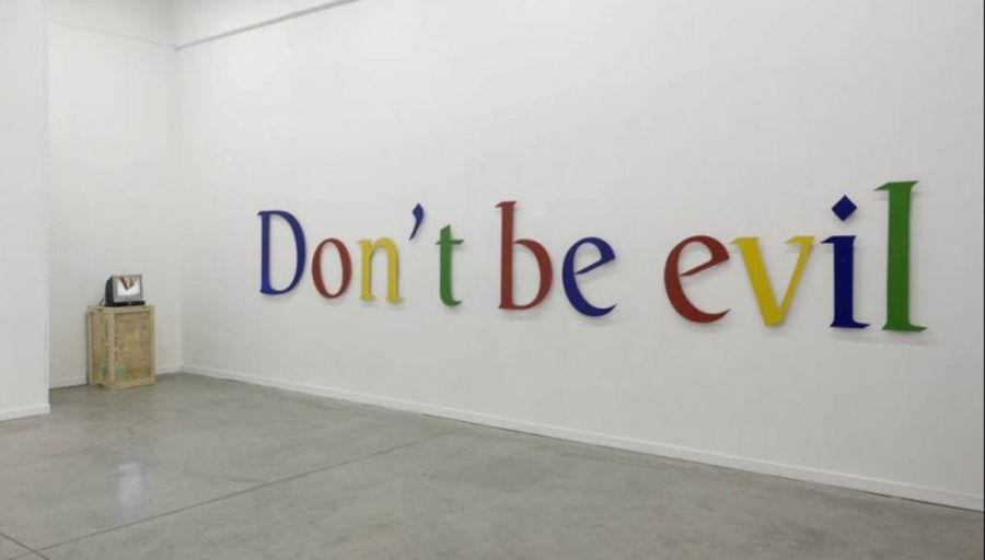 Google elimina el lema Don't Be Evil de su código de conducta