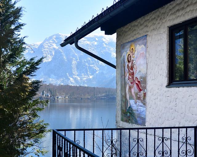 Uno de los rincones más bonitos del pueblo de Hallstatt