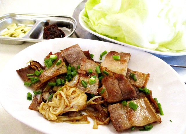 Grilled pork belly 1