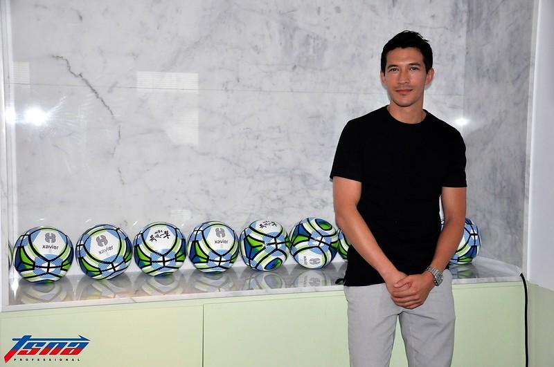 陳昌源大方分享自己對2018世界盃的看法。(張哲郢/攝)