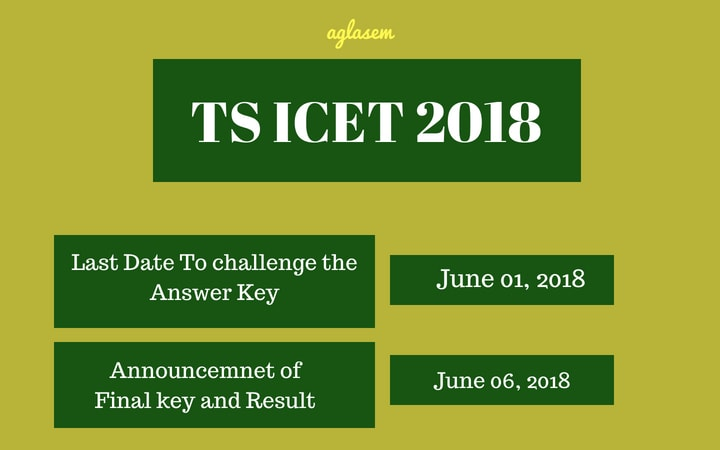 TS ICET 2018 Answer Key Released For MBA Exam on May 28