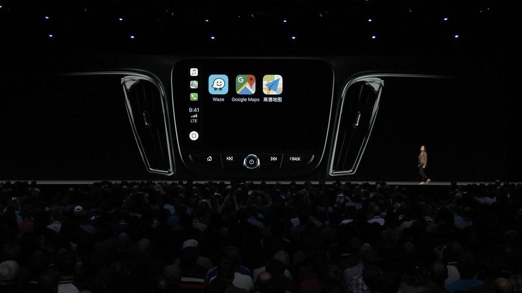「CarPlay」がサードパーティーのナビアプリに対応