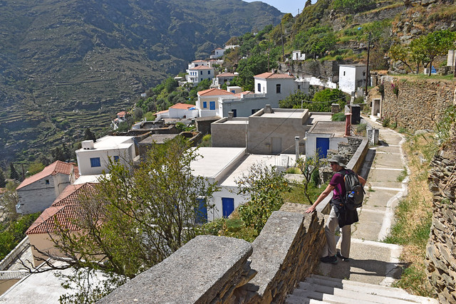 Sinetti, Ormos Korthiu route, Andros