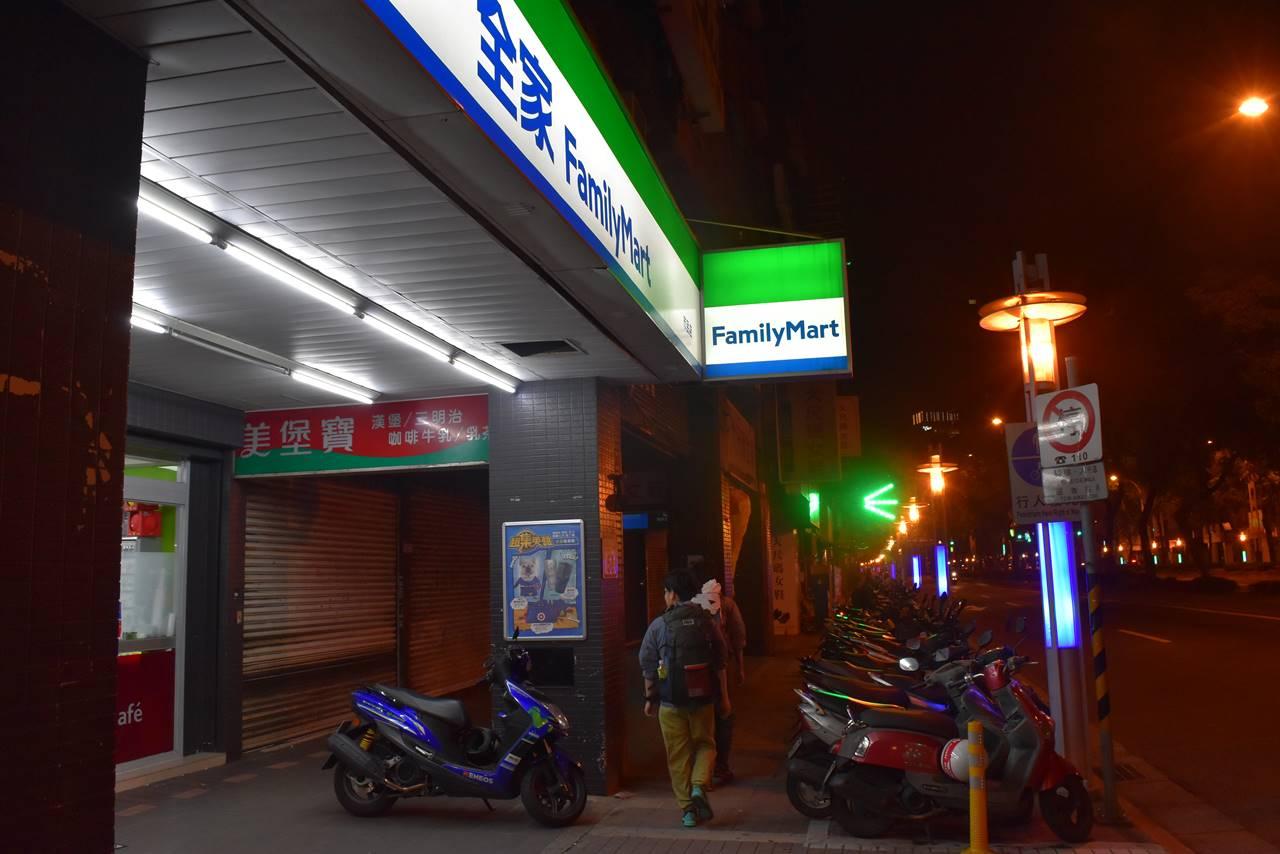 台北・ファミリーマート