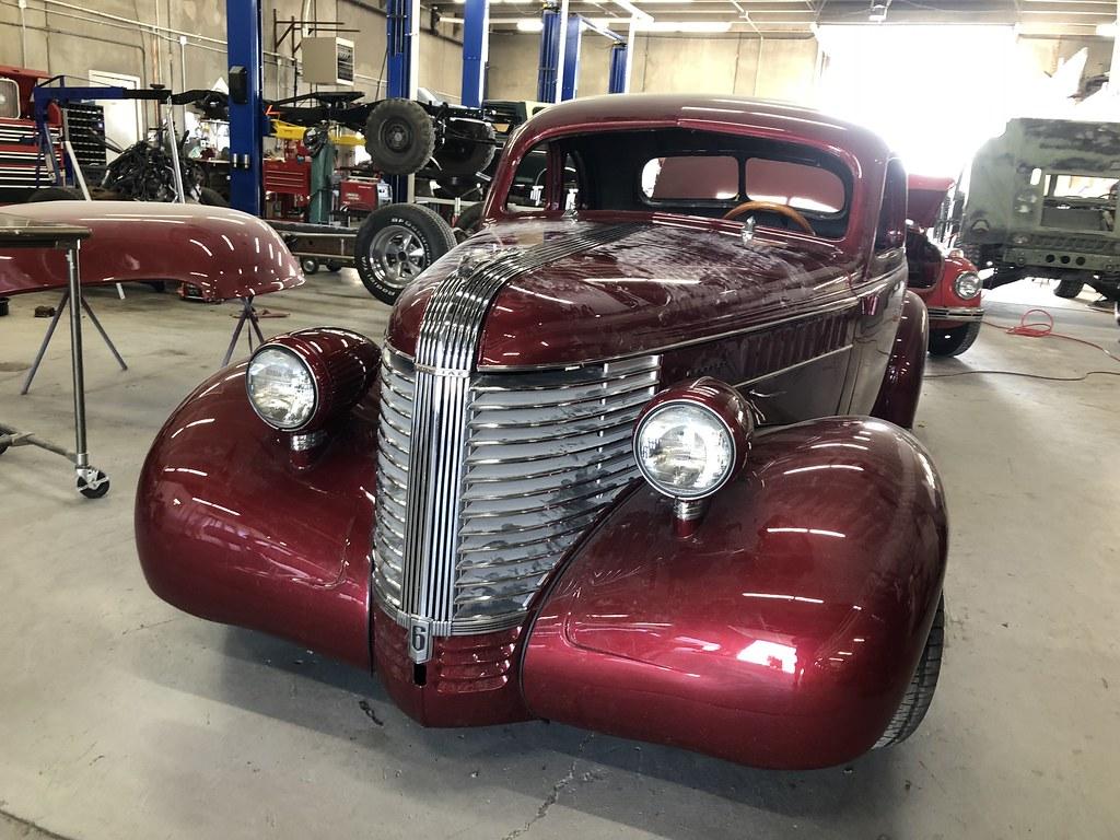 pontiac coupe 1938