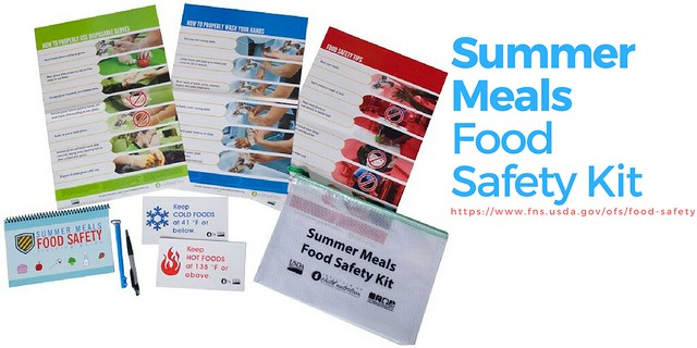 The Summer Meals Food Safety Kit graphic