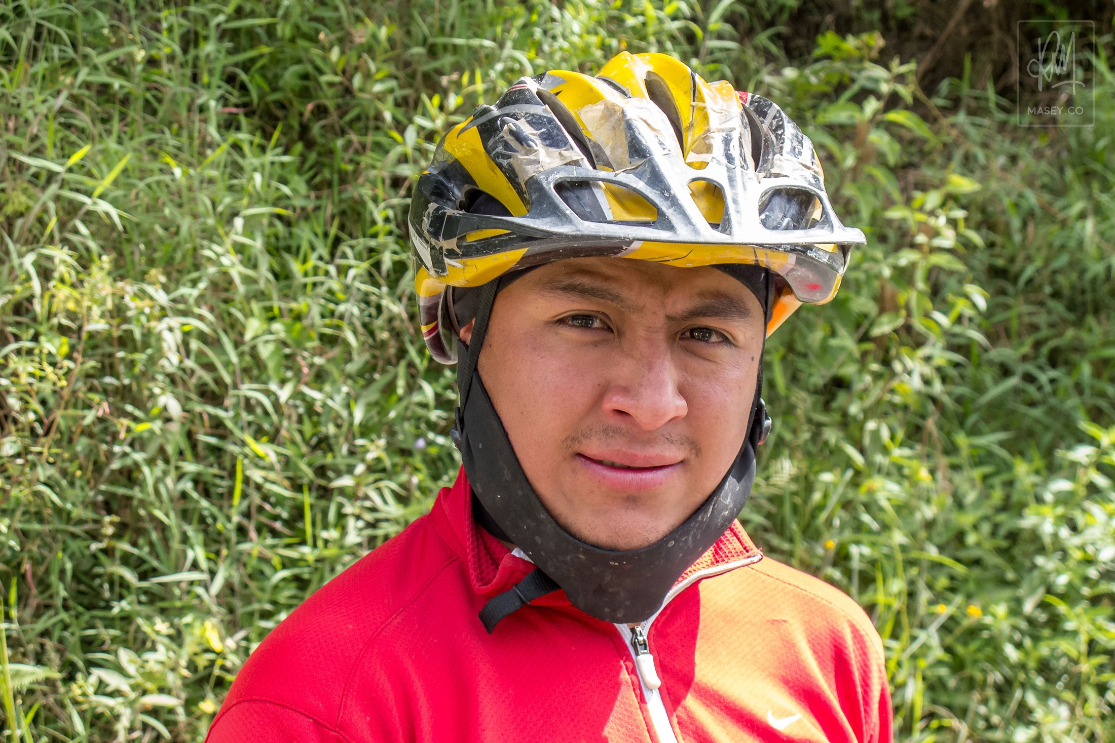 The wonderful Jesse - our downhill guide for the day