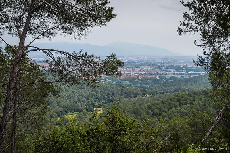 El Vallès y el Montseny desde Collserola