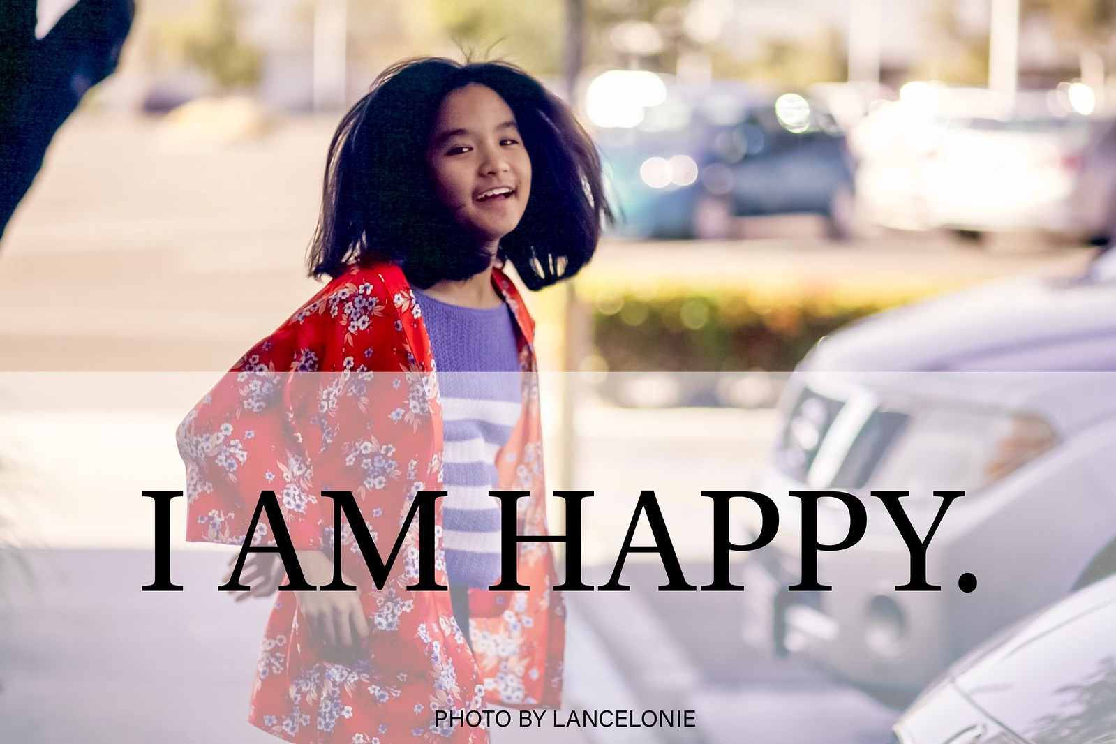 I Am Happy by lancelonie